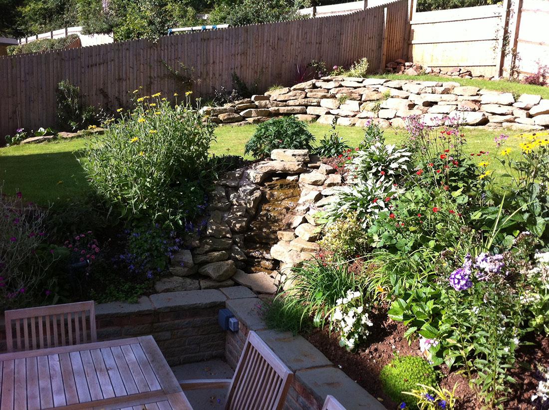 Green Man Gardens Landscape Gardening water features patios decking screening ponds