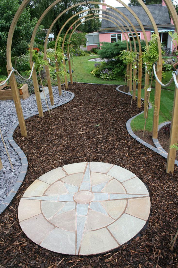 Green Man Gardens Landscape Gardening patios decking screening pergola trellis