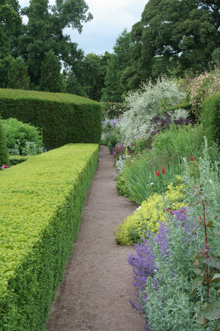 Green Man Gardens Landscape Gardening gravel pathway drive screening