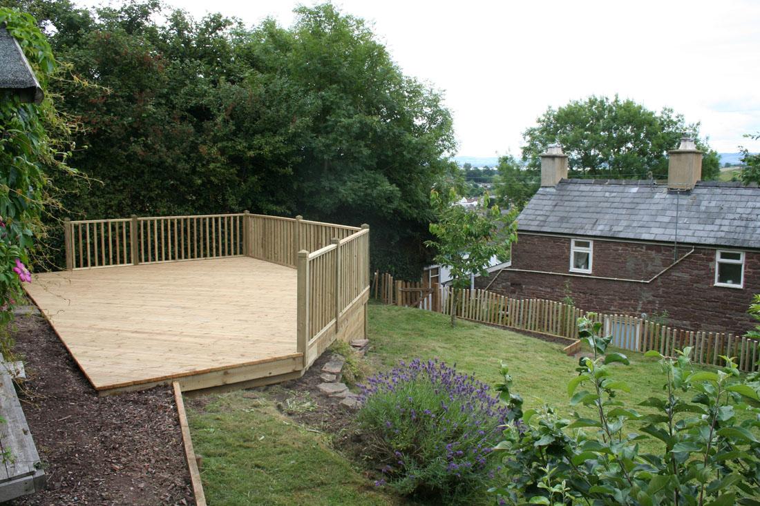 Green Man Gardens Landscape Gardening garden fencing patios decking