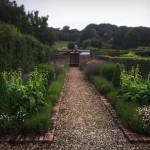 Woolaston Herbacious Borders Garden Maintenance Gravel Path Brick Edge Shrubs
